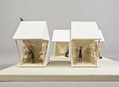 Pocket house es un sistema modular, creado por la arquitecta japonesa Luna Perschl, para solucionar rápidamente la falta de viviendas en lugares de desastr
