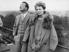 Amelia Earhart am 20. Juni 1928: Die US-Pilotin verschwand am 2. Juli 1937 bei einem Flug über den Pazifik. Earhart war durch ihre Pioniertaten berühmt geworden, die sofort eingeleitete Suchaktion eine der teuersten der damaligen Zei