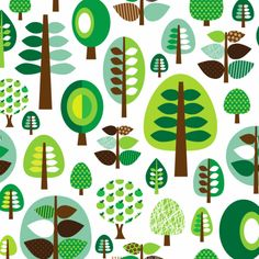 I just love this green forrest trees apple tree leafs and branches pattern. Very retro mixed patterns. Nice wallpaper or inspiration for your wall. For bedroom or livingroom or outside in your garden on plastic to cover ugly neighbor walls!