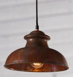 Rustic Lighting, Outdoor Lighting, Lighting Ideas, Rustic Pendant Lighting Kitchen, Primitive Lighting, Copper Lighting, Vintage Lighting, Rustic Outdoor Hanging Lights, Hanging Kitchen Lights