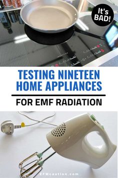 We all have so many electric appliances in our kitchen and homes but do you know how much EMF they emit? Or which ones have the highest readings on meters? We've compiled a list of home appliances and the amount of electrical and magnetic fields they create so you can start making changes to help keep your home and family safe! Wireless Printer, Wireless Camera, Family Safety, Home Safety, Electrical Appliances, Home Appliances, Electromagnetic Radiation, Magnetic Field, Healthy Lifestyle Tips
