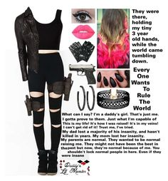 """""""Untitled #677"""" by skh-siera18 ❤ liked on Polyvore featuring Fame & Partners, sass & bide, Calvin Klein Collection, MuuBaa, Vanessa Mooney, Holster, Lime Crime and A-Morir by Kerin Rose"""