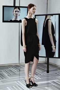 balenciaga little black dress - Google Search