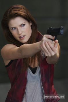 Ali Larter (as Claire Redfield in Resident Evil: Afterlife)