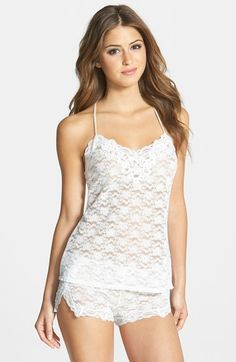 In Bloom by Jonquil 'Southern Bell' Lace Short Pajamas available at #Nordstrom