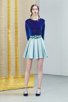 Pre-Fall 2015 Alexander Lewis http://www.style.com/slideshows/fashion-shows/pre-fall-2015/alexander-lewis/collection/4