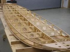 Step-By-Step Boat Plans - Stand-up Paddle board. I want to build one! - Master Boat Builder with 31 Years of Experience Finally Releases Archive Of 518 Illustrated, Step-By-Step Boat Plans Wooden Boat Building, Wooden Boat Plans, Stand Up Paddle Board, Wooden Surfboard, Building A Container Home, Diy Boat, Wood Boats, Boat Stuff, Boat Design