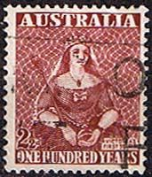 Australia 1950 Stamp Centerary Fine Used SG 240 Scott 229 Other Australian Stamps Here