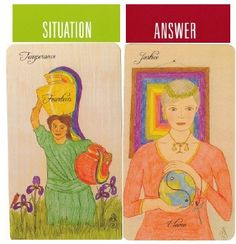 5-10-13 Friday's Tarot: TEMPERANCE + JUSTICE (Peaceful Path Tarot): Today is about finding balance in your life. It's also about blending, joining, and combining things.  How do you create the best balance and make it a great day? Justice says to be fair to yourself and others, and you'll create a win-win situation.