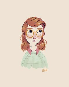 Quick doodle of Yorkie from the San Junipero episode of Black Mirror. Loved her look.