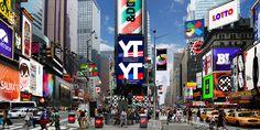 Morsomt: Times Square by Tangram | Tangram Design — Visuell identitet for bedrifter, produkter og tjenester  #brandidentity