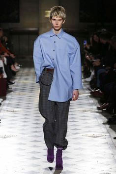 The label's first collection since one of its designer's Demna Gvasalia, took over Balenciaga.