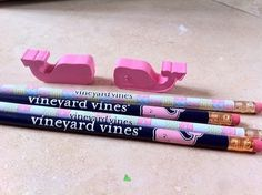 I love the vineyard vines whale erasers!