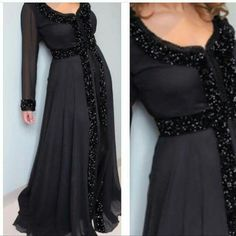 Elegant Dresses, Beautiful Dresses, Kaftan Tops, Indian Party Wear, Moroccan Caftan, Caftan Dress, Oriental Fashion, Traditional Dresses, Hijab Fashion