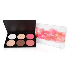 6 Contour Blush Palette from Coastal Scents