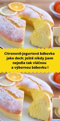 German Desserts, Sweet Desserts, No Bake Desserts, Delicious Desserts, Dessert Recipes, Simply Recipes, Sweet Recipes, Sweet Cooking, Czech Recipes