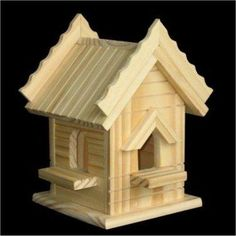 Kits Includes: Wood Pieces and Kid Friendly Instructions Wood: Pine You Get 4 Different Bird House Kits, each kit comes in it's own package with Kid Friendly Instructions. Assembled Size: x x x x x x x x These are Bird House Kits, Assembly Required Pop Stick Craft, Popsicle Stick Houses, Popsicle Stick Crafts, Craft Stick Crafts, Wood Crafts, Craft Kits, Popsicle House, Craft Sticks, Wooden Bird Houses