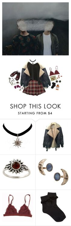 """""""I don't believe a word you say, but I'm still listening"""" by electrasighs ❤ liked on Polyvore featuring Bjørg, Forever 21, Børn, vintage, women's clothing, women, female, woman, misses and juniors"""