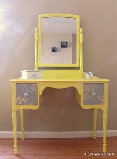 Yellow Vanity