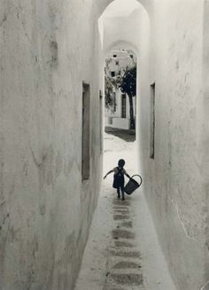 "David ""Chim"" Seymour (1911-1956)  Mykonos, Greece, 1951"