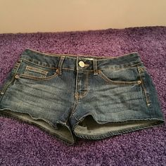 So Brand Jean Shorts Size 5 Great condition Jean shorts. 2 inch inseam. Very cute. SO Shorts Jean Shorts