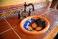 Talavera Bathroom Design, Pictures, Remodel, Decor and Ideas - page 4 too bright