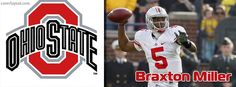 Braxton Miller OSU Ohio State Football Facebook Cover CoverLayout.com