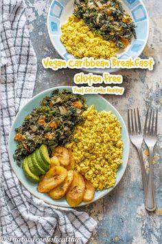 Best Vegan Recipes, Vegan Breakfast Recipes, Dairy Free Recipes, Whole Food Recipes, Healthy Recipes, Green Vegetarian, Avocado Pear, Sauteed Greens, Gluten Free Breakfasts