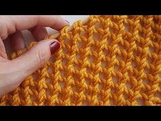 Çapraz Lastik Örgü Modeli #örgü #bebek #hırka #knitting #battaniye - YouTube