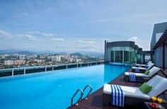 Soak up the view of the city at Somerset Ampang Kuala Lumpur's rooftop infinity pool in with this picturesque Rooftop Pool, Laundry Service, Somerset, 4 Star Hotels, Good Night Sleep, Trip Advisor, City, Building, Comforters