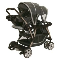 Graco Read2Grow Click Connect Stroller - Black. Note to self to test drive this stroller later one when we have more than one child.