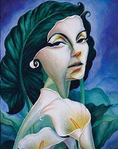 Метаморфические картины-иллюзии Октавио Окампо
