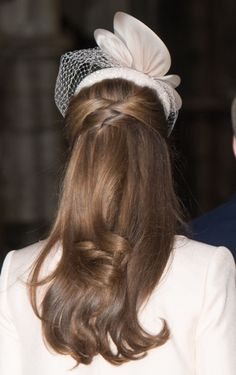 How could we possibly be inspired by anyone else's hair this week than new mom Kate Middleton's gorgeous tresses? Beth first spotted this look a few months...