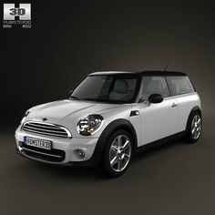 Mini Cooper clubman 2011 3d model from humster3d.com. Price: $75