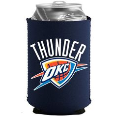 Oklahoma City Thunder Navy Blue Collapsible Can Cooler - $4.99