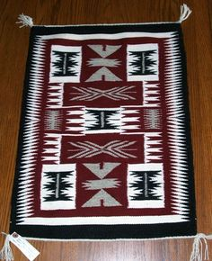 """Authentic Navajo Wool Weaving NEW Titled """"Storm"""" Handwoven Navajo Weaving, Navajo Rugs, Tapestry Weaving, Hand Weaving, Southwest Home Decor, Native American Rugs, Bubble Art, Indian Rugs, Natural Rug"""