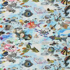 Peche miraculeuse - Aurore #Fabrics from Christian Lacroix Maison