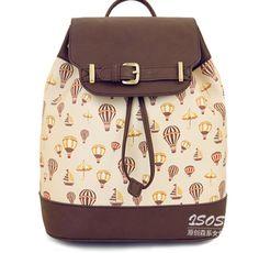 New Super Cute Womens Hot Air Balloon Satchel Messenger Bag Handbag Shopping Bag | eBay