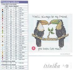 Gallery.ru / Фото #48 - Птички, схема на 1 лист - irinika