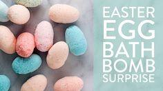 Easter Egg Bath Bomb Surprise!