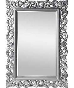 Inspire Rococo Wall Mirror - Silver.