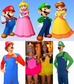 Couple/group costume idea. #Halloween #MarioBros  sc 1 st  Pinterest & What I Made Today: TUTORIAL: Toad from Mario Bros | Halloween ...