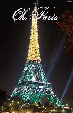 GIFS Animados Ciudades | Paris - 1000 Gifs