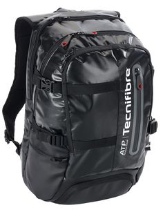 PRO ATP BACKPACK : The traveler's backpack ! A pocket for 2 rackets, comfortable straps, and a total of 7 pockets ! Ready to take on the competition!