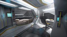 Various Star Citizen Clothing Futuristic Bedroom, Futuristic Interior, Futuristic Design, Futuristic Architecture, Minimalist Architecture, Spaceship Interior, Spaceship Design, Spaceship Concept, Concept Art Sci Fi