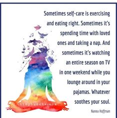 Self-Care Is Whatever Soothes Your Soul - Tiny Buddha Be Kind To Yourself, Take Care Of Yourself, Take A Nap, Take That, Tiny Buddha, Effects Of Stress, Scary Mommy, Tv Seasons, Beginner Yoga