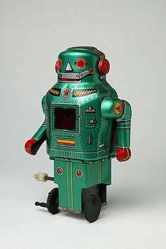 Mechanical Toy Robot, Japan 1975 - 1979
