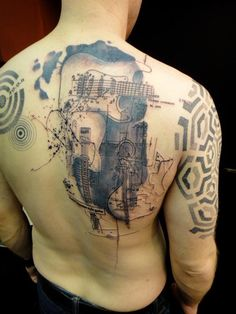 Cool Back Tattoos by Xoil (7)