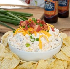 Loaded Baked Potato Dip -- you won't believe how good this is until you taste it. Super easy too!