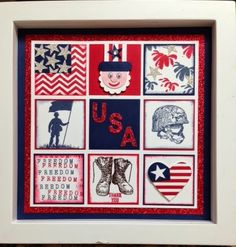 Judy's Stamp Pad: Stampers Dozen - Home of the Brave